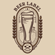 Beer Label Emblem - GraphicRiver Item for Sale