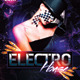 Electro House Flyer Template v.2 - GraphicRiver Item for Sale