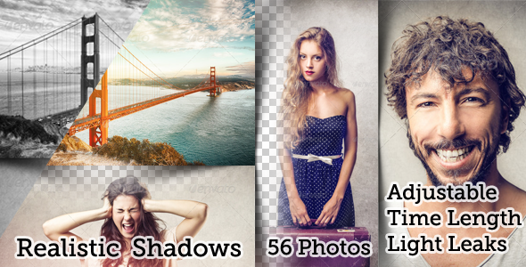 VideoHive Flexible Split Screen 56 Photo Slideshow 6967320