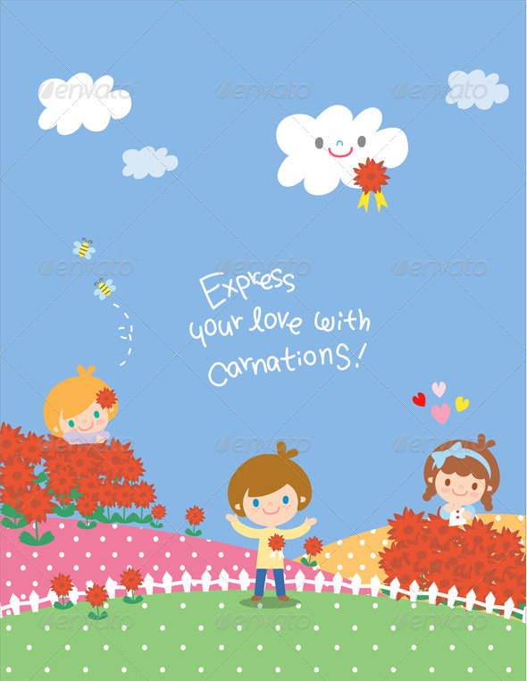 GraphicRiver Balloon Kids Illustration 6961958