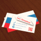 Tricolor Business Card - GraphicRiver Item for Sale