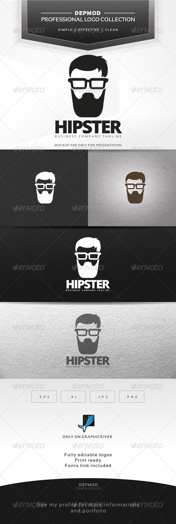 GraphicRiver Hipster Logo 7001030
