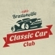 Classic Car Logo - GraphicRiver Item for Sale