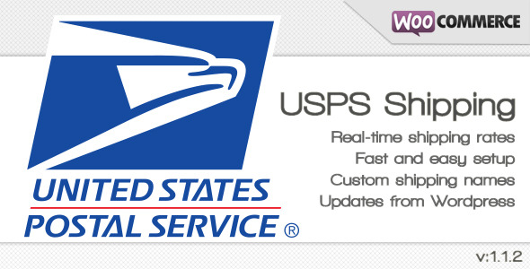 USPS Shipping method for WooCommerce - CodeCanyon Item for Sale