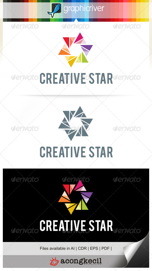 GraphicRiver Creative Star V.1 7010703