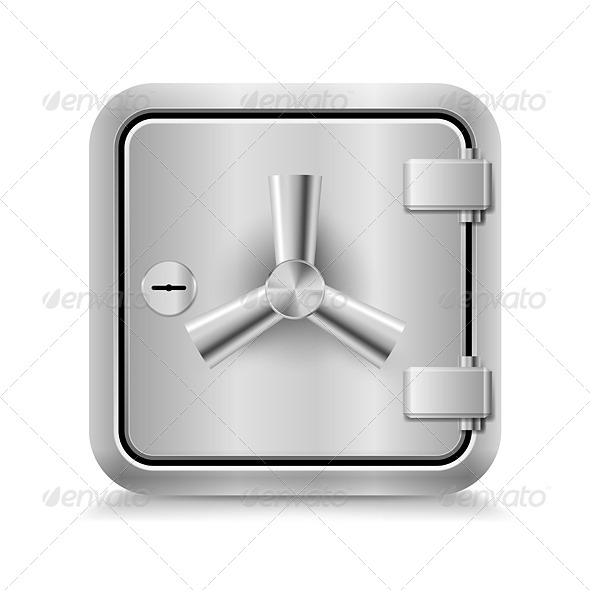 GraphicRiver Safe Icon 7010973