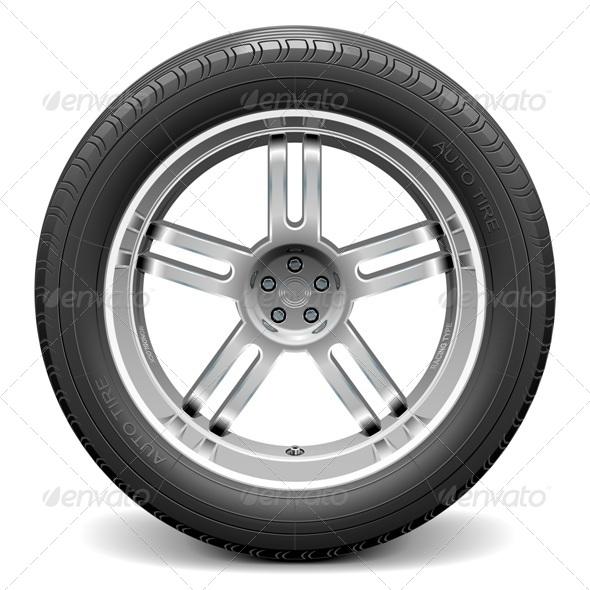 GraphicRiver Car Wheel 7010980