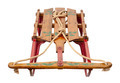 Antique hand painted sled - PhotoDune Item for Sale
