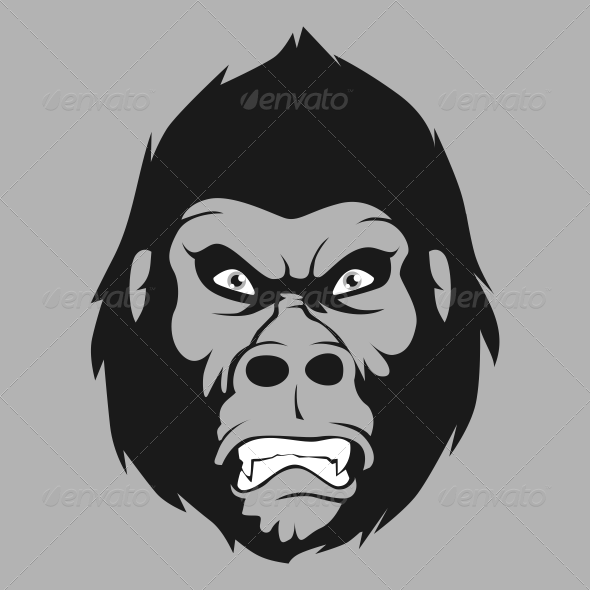 GraphicRiver Angry Gorilla 7012548