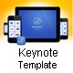 App Presentation Keynote Template - GraphicRiver Item for Sale