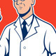 Scientist Lab Researcher Chemist Cartoon - GraphicRiver Item for Sale