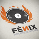 Fenix Records Store Logo Template - GraphicRiver Item for Sale