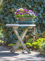 Garden Decoration Table with Bouquet - PhotoDune Item for Sale