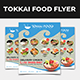 Tokkai Food Menu - GraphicRiver Item for Sale