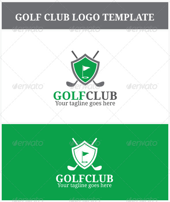 GraphicRiver Golf Club Logo 7016972