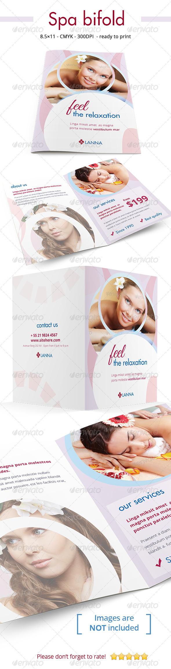 GraphicRiver Premium Spa Bi-fold 7017527