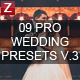 9 Pro Wedding Presets vol.3 - GraphicRiver Item for Sale