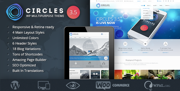 Circles - Retina Responsive Multi-Purpose Theme - Business Corporate