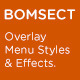 CMD Bomsect - fullscreen overlay menu styles - CodeCanyon Item for Sale