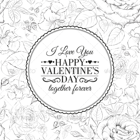 GraphicRiver Valentine Card 7018909