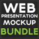 Web Presentation Mockup Bundle - GraphicRiver Item for Sale