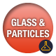 Glass and Particles Lower Thirds - VideoHive Item for Sale