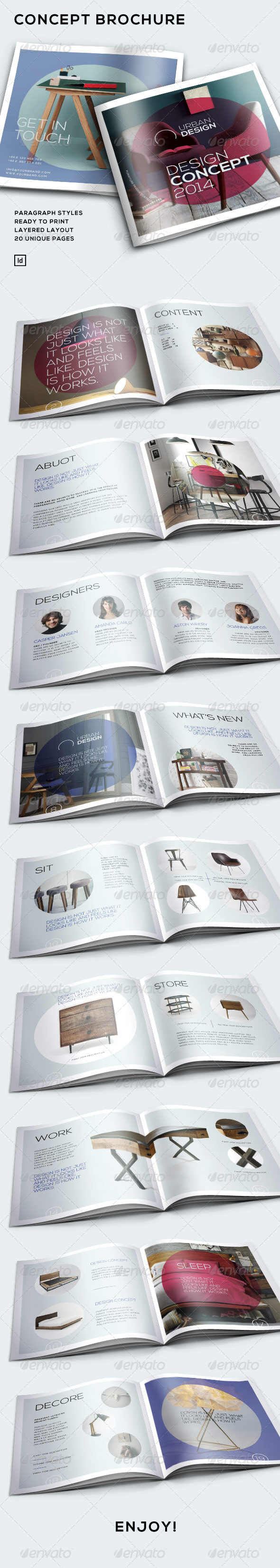 GraphicRiver Concept Brochure 7019996