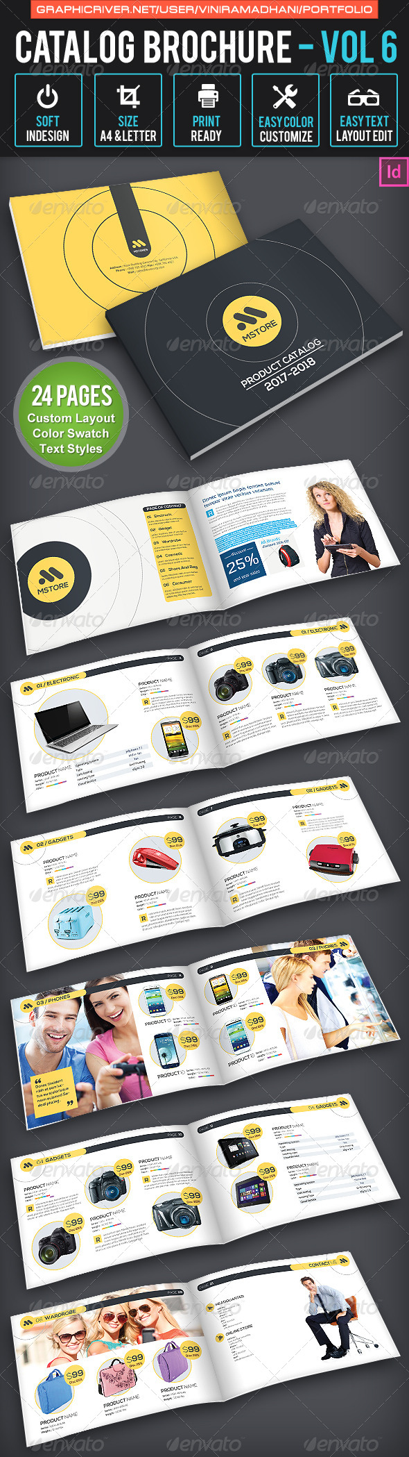 GraphicRiver Product Catalogs Brochure Volume 6 7022014