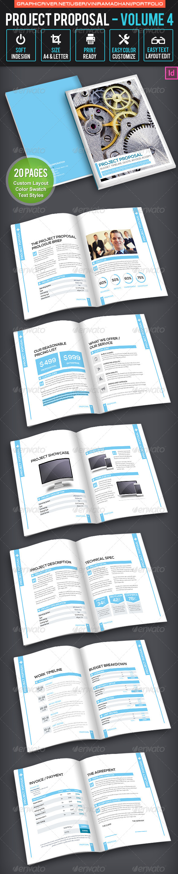 GraphicRiver Project Proposal Volume 4 7022050
