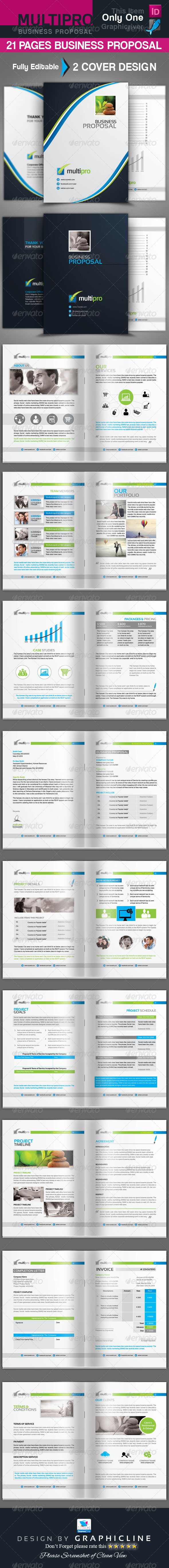 GraphicRiver Business Proposal 7022160