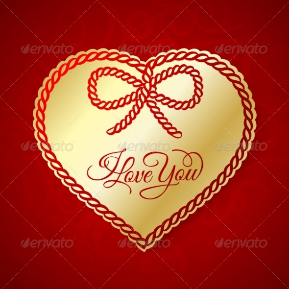 GraphicRiver I Love You Card 7022566