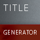 Wordpress Title Generator Plugin - CodeCanyon Item for Sale