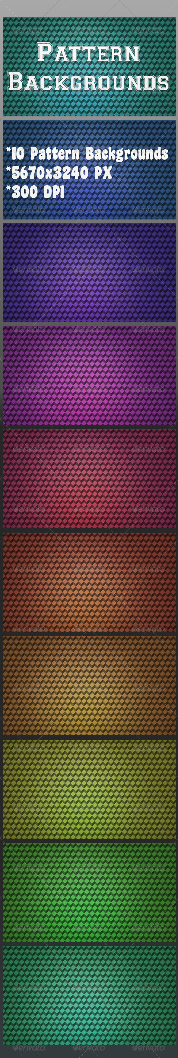 GraphicRiver Pattern Backgrounds 7022764