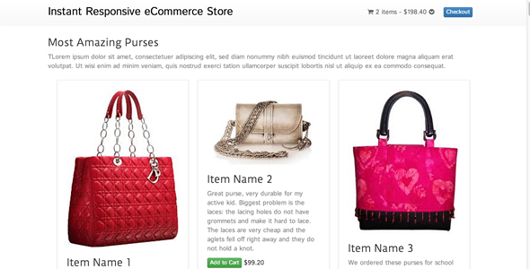CodeCanyon PHP Responsive Online Store with Paypal Cart 7022811