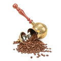 coffee pot and coffee beans - PhotoDune Item for Sale