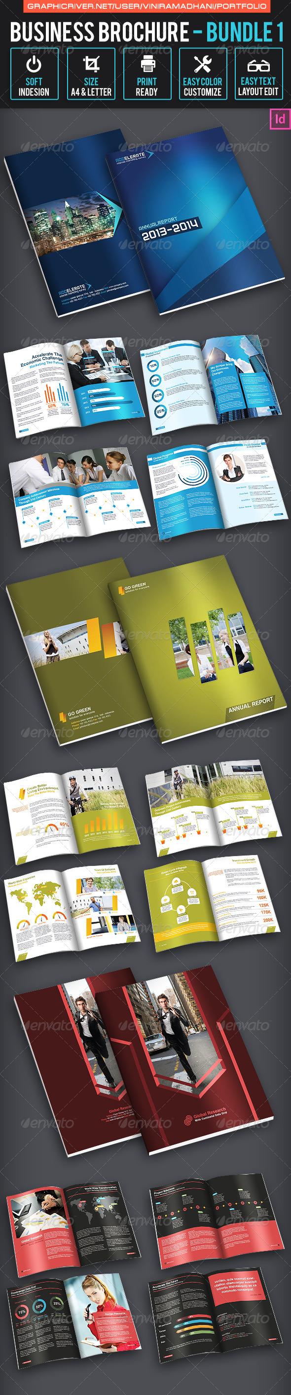 GraphicRiver Business Brochure Bundle 1 7023341