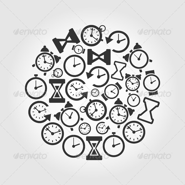 GraphicRiver Hours Circle 7023787