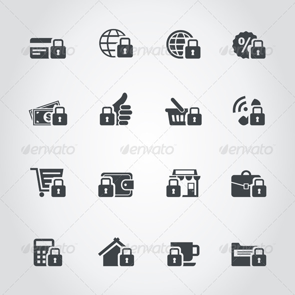 GraphicRiver Lock Icons 7023841