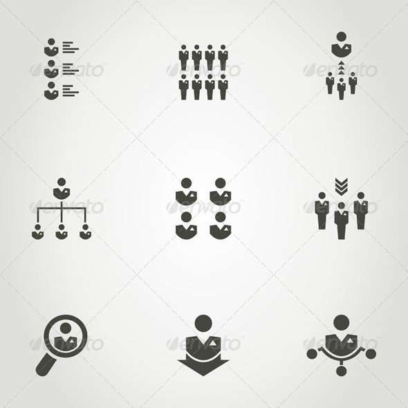 GraphicRiver Network Icon 7023911