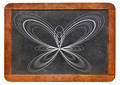 butterfly curve on blackboard - PhotoDune Item for Sale