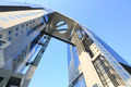 Blue sky  and  Umeda Sky Building in Osaka Japan - PhotoDune Item for Sale