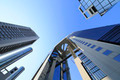 Blue sky  and  Umeda Sky Building in Osaka Japan - PhotoDune Item for Sale