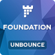 Foundation - Unbounce Non-Profit Landing page - ThemeForest Item for Sale