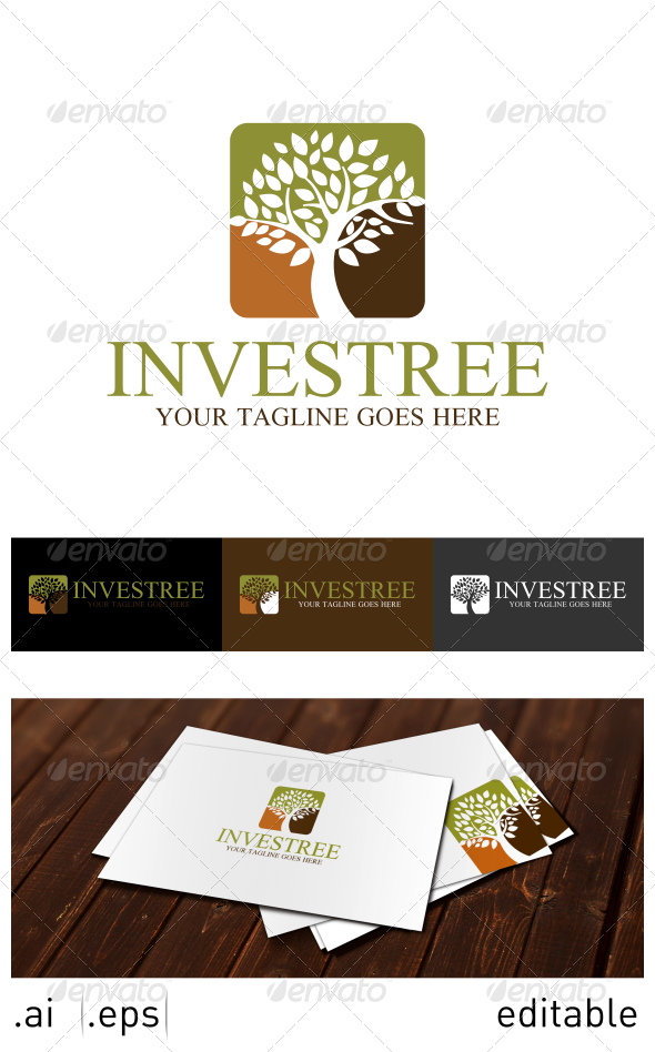 GraphicRiver Investree Logo Template 7025096