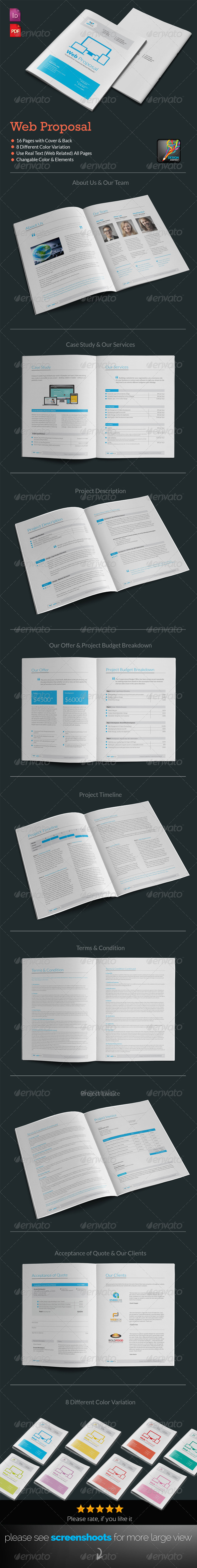 GraphicRiver Web Proposal For Web Design & Development Agency 7025608
