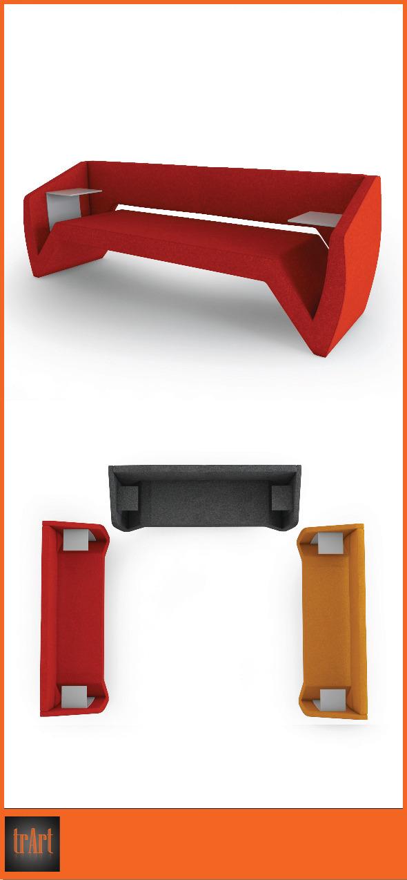 3DOcean Chair Armchair 7025677