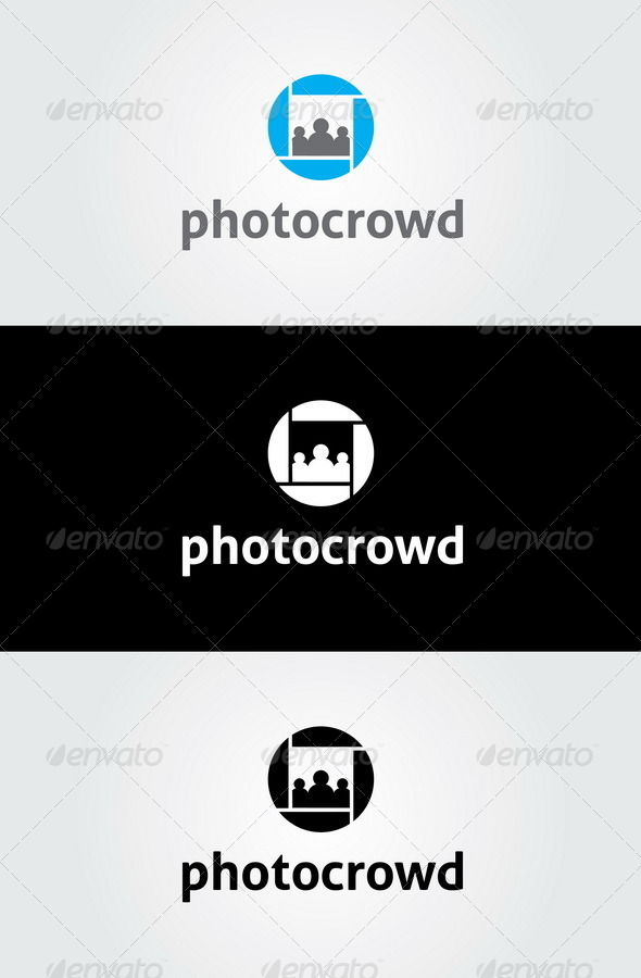GraphicRiver Photo Crowd Logo 7025703