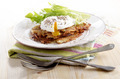 hash browns with poached egg - PhotoDune Item for Sale