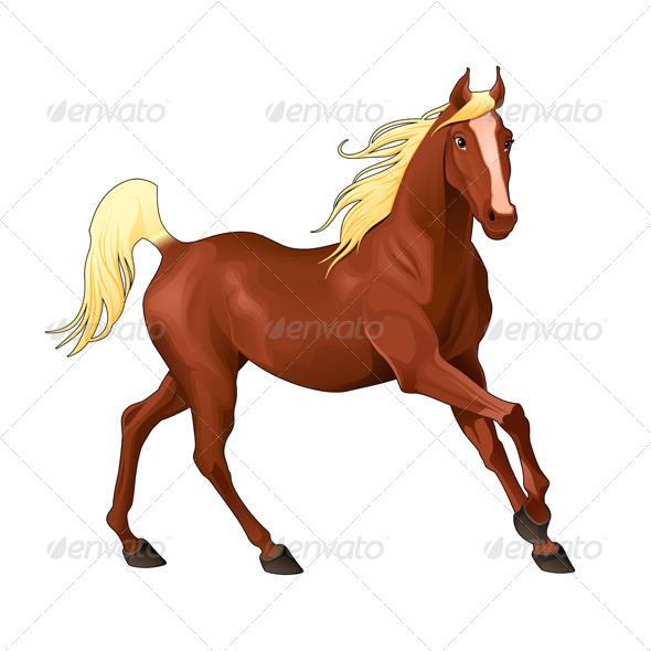 GraphicRiver Elegant Horse 7026505