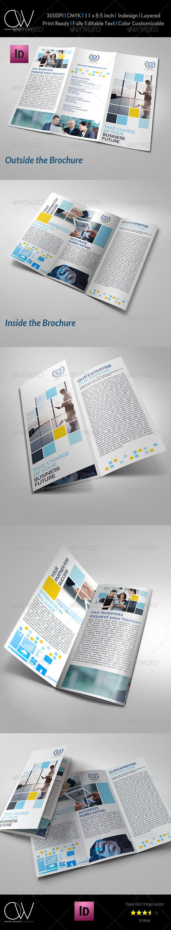 GraphicRiver Corporate Business Tri-Fold Brochure Vol.6 7026558